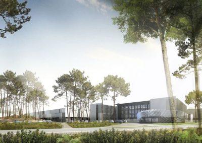 Projet CAP 2020 – Construction du Centre de Maintenance TURBOMECA Tarnos (40)