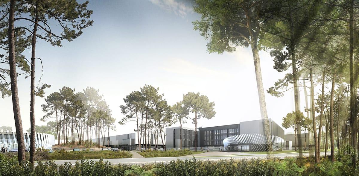 Projet CAP 2020 - Construction du Centre de Maintenance TURBOMECA Tarnos (40)