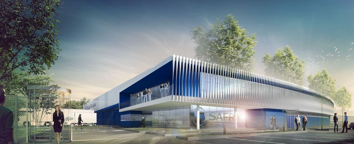 iam architectes Unité de maintenance et de production Rosult et Rosières (59)