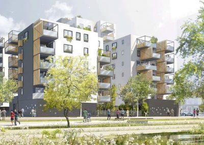 Construction de 94 Logements ZAC de la Cartoucherie – Toulouse (31)