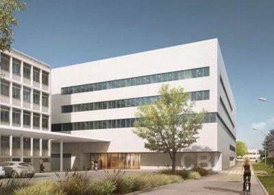 Construction du Centre de Biologie Intégrative Toulouse (31)