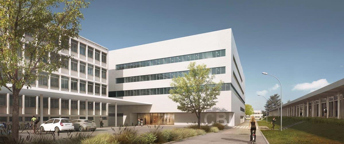Construction du Centre de Biologie Intégrative Toulouse (31) par iam architectes