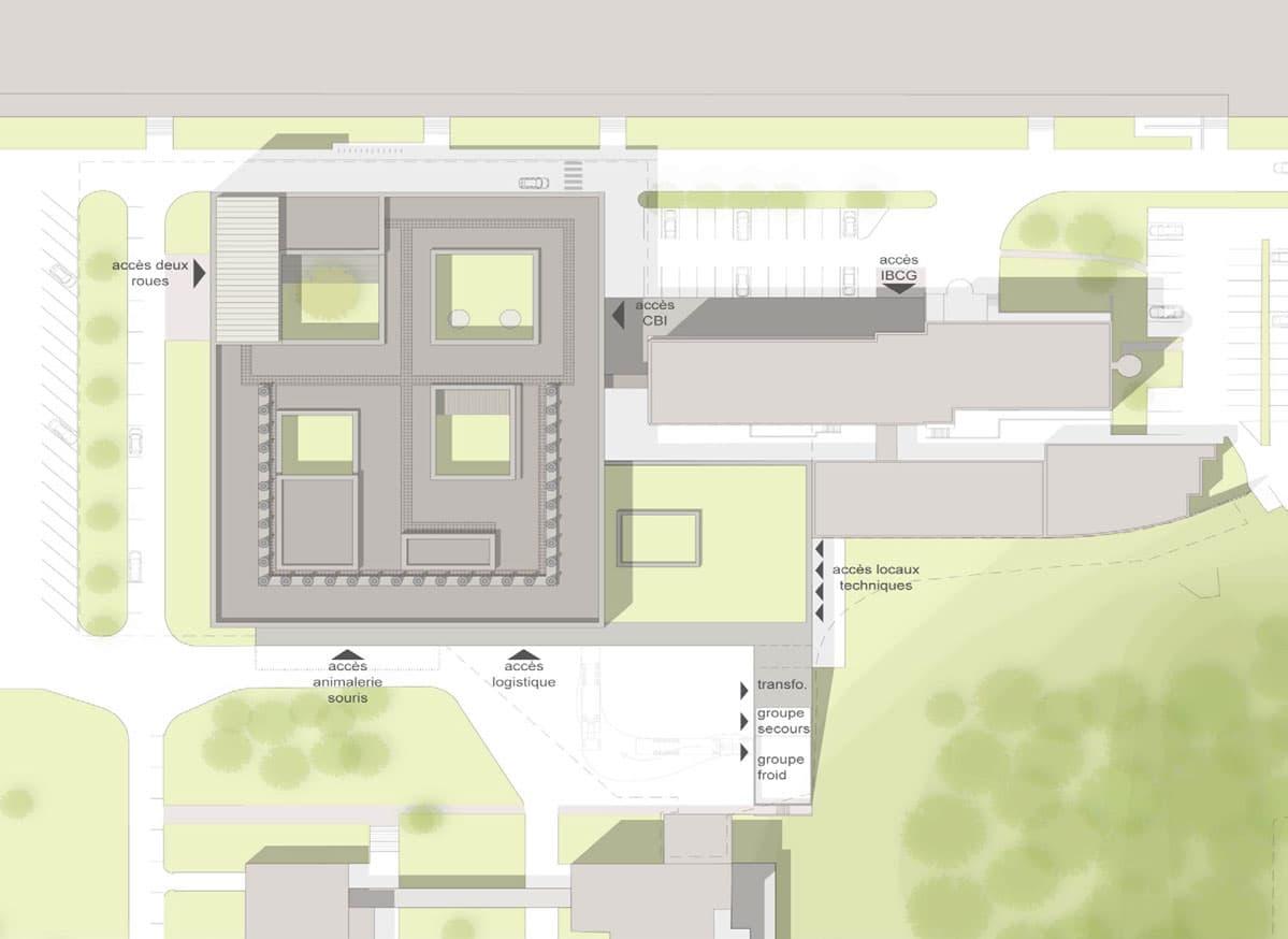 Construction du Centre de Biologie Intégrative Toulouse (31) avec iam architectes