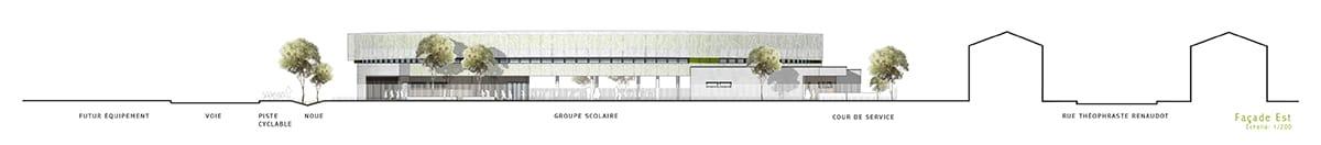 Construction du Groupe Scolaire de Bordeblanche Toulouse (31) par iam architectes