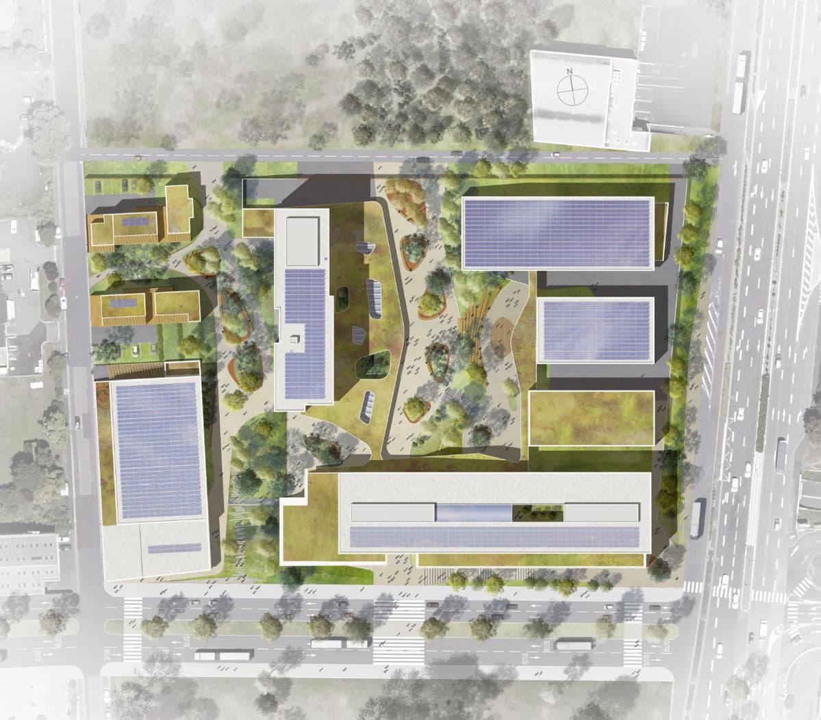 iam architectes Construction du Nouveau Lycée Professionnel Clermont-Ferrand (63)