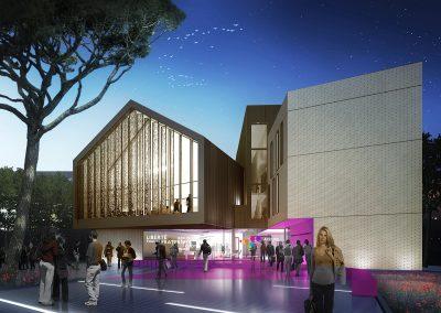 Construction de la Maison de la citoyenneté de Basso Cambo Toulouse (31)