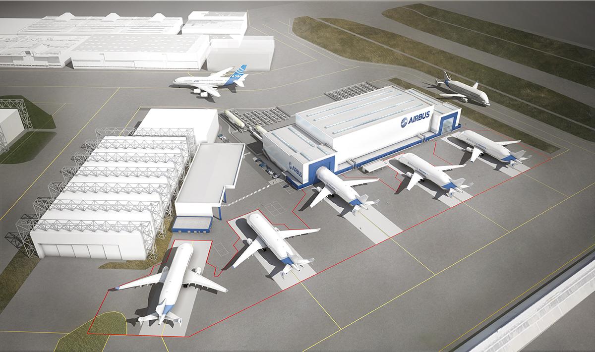 AIRBUS-projet-new-ilf-beluga-xl-Construction-du-Centre-de-chargement-iam-architectes-sequences-vinci-bourdarios-betem-sogeti-aerienne 1.0