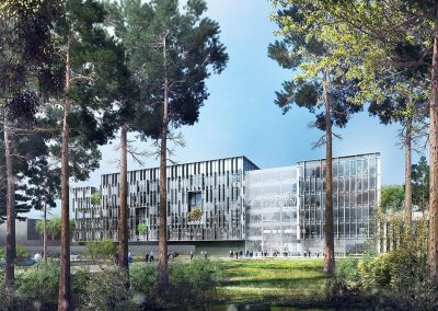 DASSAULT Aviation – Projet Mérignac 2020 – Construction d'un bâtiment tertiaire – Mérignac (33)