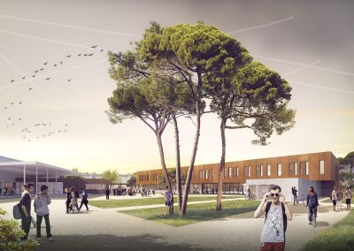 Extension et restructuration Lycée professionnel Eugene Montel – Colomiers (31)