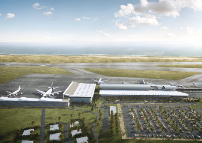 Extension et restructuration de l'aéroport Roland Garros – Saint-Denis de La Réunion (974)
